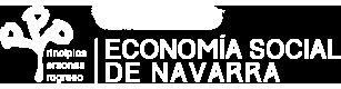 Economía social de Navarra Logo
